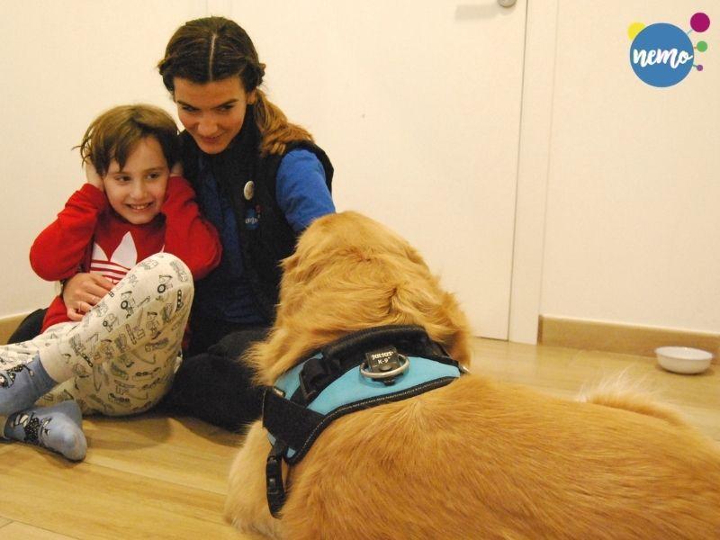 Terapia asistida con perros (TAP)